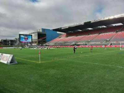 TD Place Stadium, section: n, row: 2, seat: 4