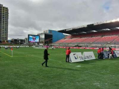 TD Place Stadium, section: l, row: 1, seat: 3