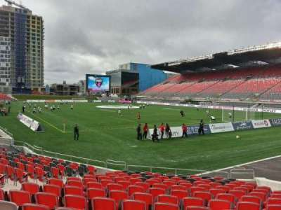 TD Place Stadium section k