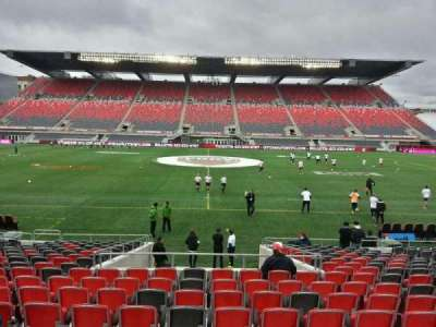 TD Place Stadium, section: s, row: acc, seat: 5