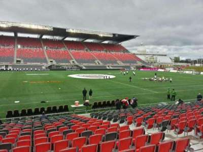TD Place Stadium, section: v, row: acc, seat: 4