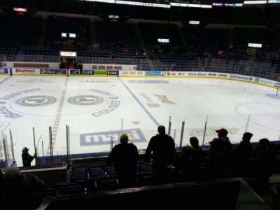 Colisée Pepsi, section: 111, row: o, seat: 5
