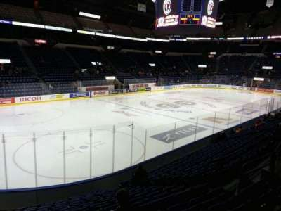 Colisée Pepsi, section: 117, row: n, seat: 12