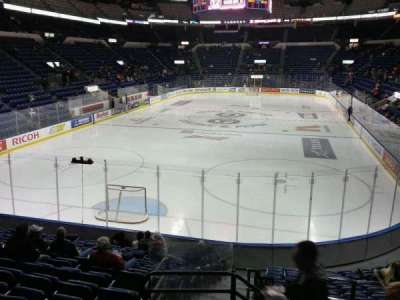 Colisée Pepsi, section: 119, row: o, seat: 44