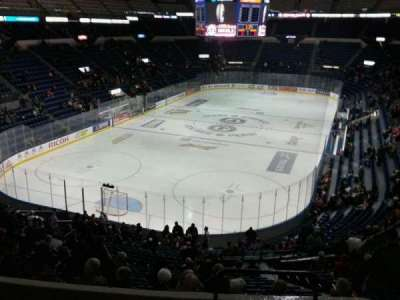 Colisée Pepsi, section: 204, row: e, seat: 31