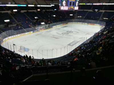Colisée Pepsi, section: 204, row: e, seat: 1