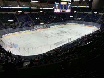 Colisée Pepsi, section: 206, row: f, seat: 36
