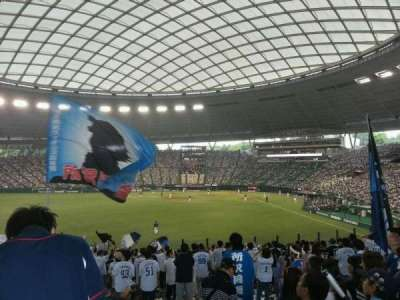 Seibu Prince Dome, section: Lions Outfield