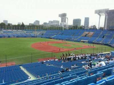 Jingu Stadium, section: 12, row: 41, seat: 175