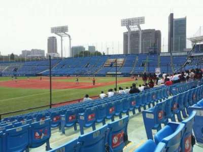 Jingu Stadium, section: 12, row: 16, seat: 167