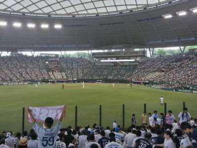Seibu Prince Dome, section: Home supporters