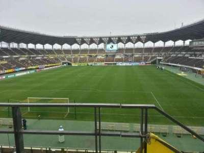 Fukuda Denshi Arena, row: 13, seat: 186