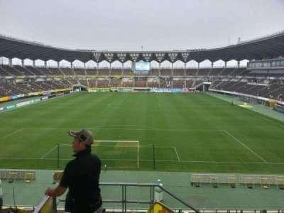 Fukuda Denshi Arena, row: 15, seat: 167