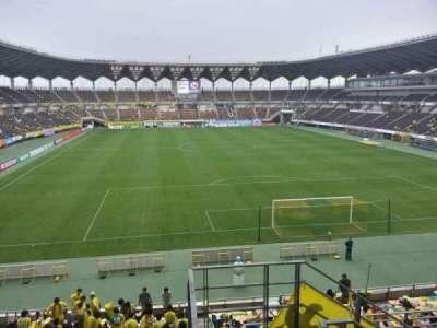 Fukuda Denshi Arena, row: 16, seat: 129