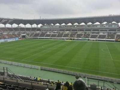 Fukuda Denshi Arena, row: 20, seat: 176