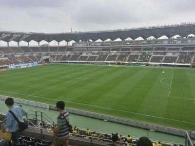 Fukuda Denshi Arena, row: 20, seat: 184