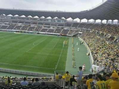 Fukuda Denshi Arena, row: 24, seat: 219