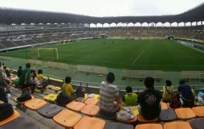 Fukuda Denshi Arena, row: 7, seat: 208
