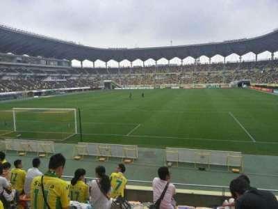 Fukuda Denshi Arena, row: 8, seat: 189