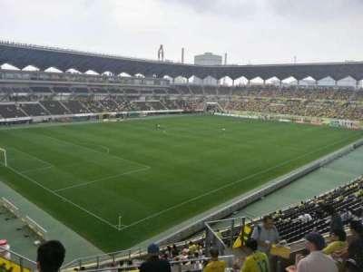 Fukuda Denshi Arena, row: 20, seat: 284
