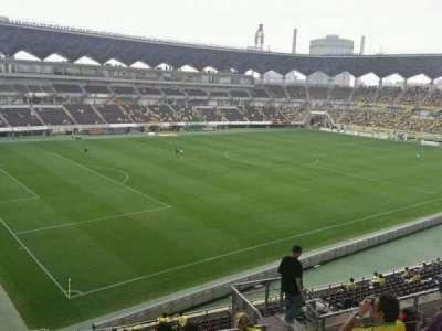 Fukuda Denshi Arena, row: 21, seat: 301
