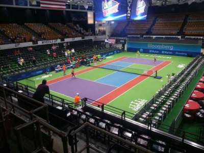 Kastles Stadium, section: 207, row: d, seat: 4