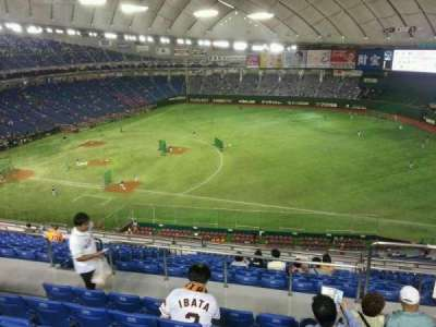 Tokyo Dome, section: Home, row: 16, seat: 307