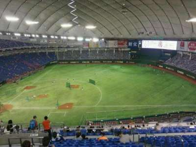 Tokyo Dome, section: Home, row: 22, seat: 227