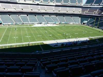 Lincoln Financial Field, section: c38, row: 13, seat: 10
