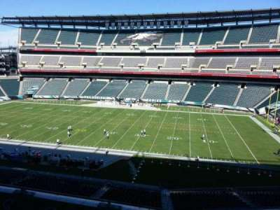 Lincoln Financial Field section c3