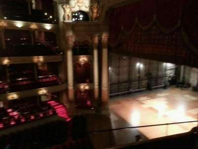 Academy of Music, section: family circle a, row: d, seat: 64
