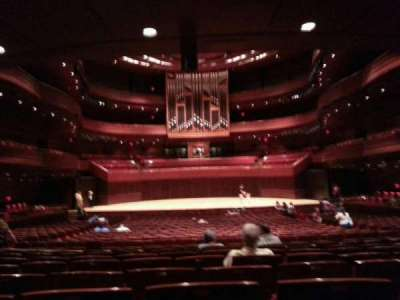 Verizon Hall at the Kimmel Center, section: orch, row: h, seat: 116