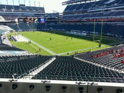 Lincoln Financial field, section: NE T 1, row: 4, seat: 20