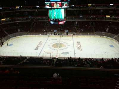 United Center, section: 317, row: 7, seat: 9