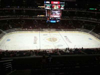 United Center section 301