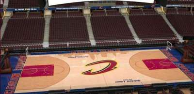 Quicken Loans Arena, section: 225, row: 3