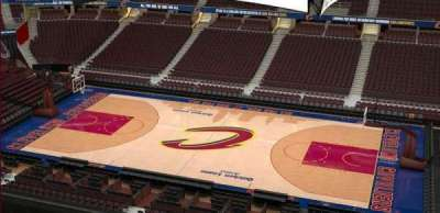 Quicken Loans Arena, section: 227, row: 3