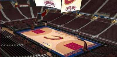 Quicken Loans Arena, section: 230, row: 3