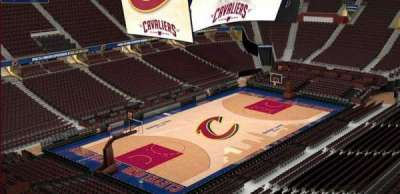 Quicken Loans Arena, section: 204, row: 3