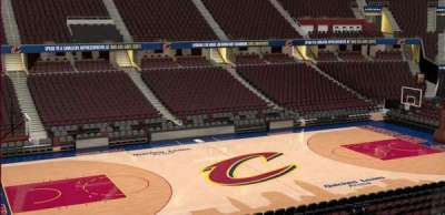 Quicken Loans Arena, section: C107, row: 20