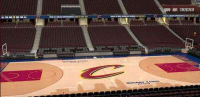 Quicken Loans Arena, section: C108