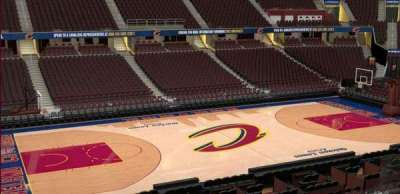Quicken Loans Arena, section: C124, row: 20