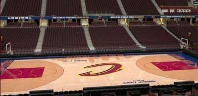 Quicken Loans Arena, section: C125, row: 20