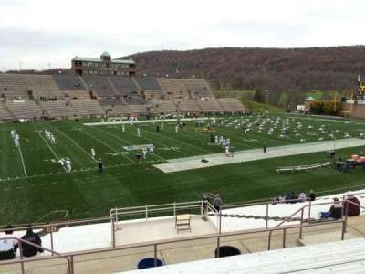 Goodman Stadium, section: El, row: 8, seat: 16
