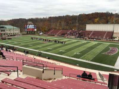 Fisher Stadium, section: 1, row: Mm, seat: 3