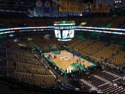 Td Garden Section Bal 326 Home Of Boston Bruins Boston