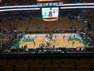 Td Garden Section Bal 301 Row 6 Seat 8 Home Of Boston