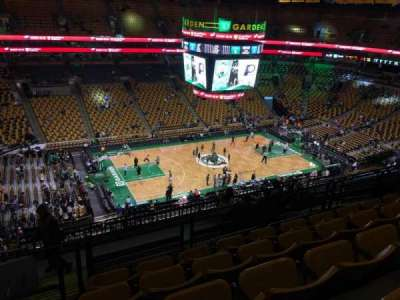TD Garden, section: Bal 303, row: 11, seat: 18