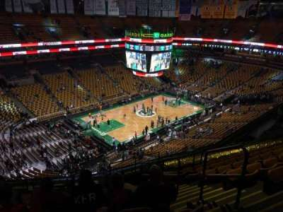 TD Garden, section: Bal 305, row: 15, seat: 2