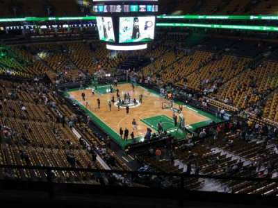 TD Garden, section: Bal 311, row: 6, seat: 5